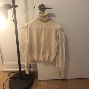 Zara Ecru Sweater